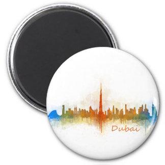 Dubai Skyline Cityscape Emirates v3 Magnet