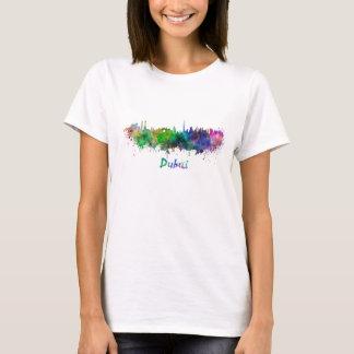 Dubai skyline in watercolor T-Shirt
