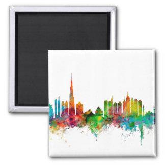 Dubai Skyline Fridge Magnet