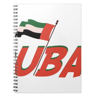 Dubai Spiral Note Book