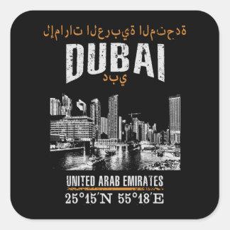 Dubai Square Sticker