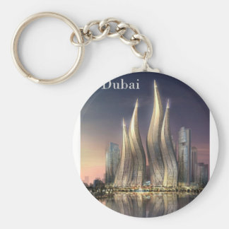 dubai Towers by St K Key Chains