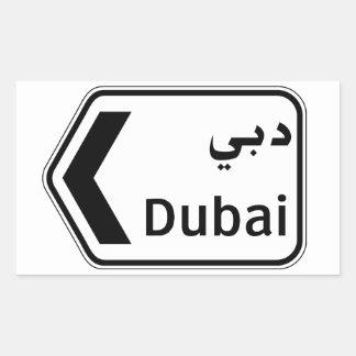 Dubai, Traffic Sign, United Arab Emirates
