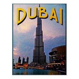 Dubai Travel Postcard