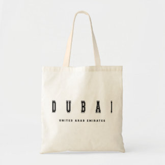 Dubai United Arab Emirates Tote Bag