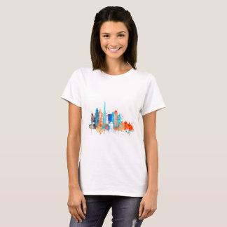 Dubai watercolor skyline T-Shirt