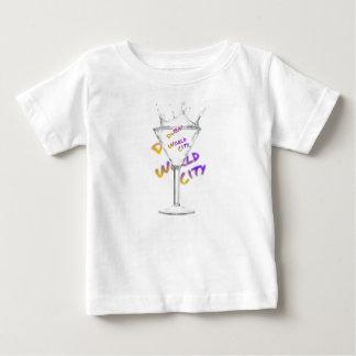 Dubai world city, water glass baby T-Shirt