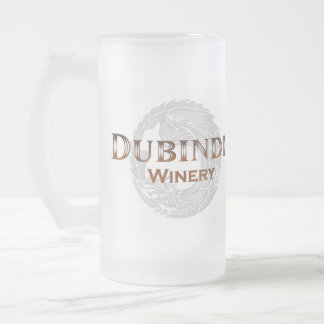 Dubindil Winery Frosted Beer Mug