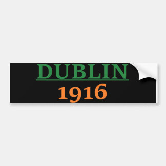 Dublin 1916 bumper sticker
