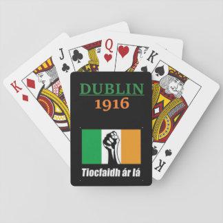 Dublin 1916 Tiocfaidh ar la Playing Cards