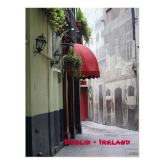 Dublin Alley Postcard