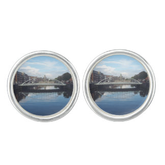 Dublin Bridge Landscape Cufflinks