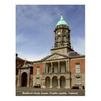 Dublin Castle Ireland - Bedford clock tower Postcard