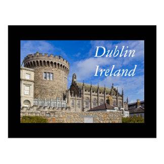 Dublin Castle, Ireland Postcard