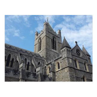 Dublin Christ Church Cathedral Postcard