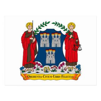 Dublin Coat of Arms Postcard