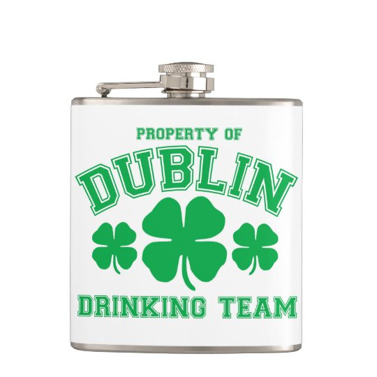 Dublin Drinking Team Flask
