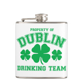 Dublin Drinking Team Hip Flask