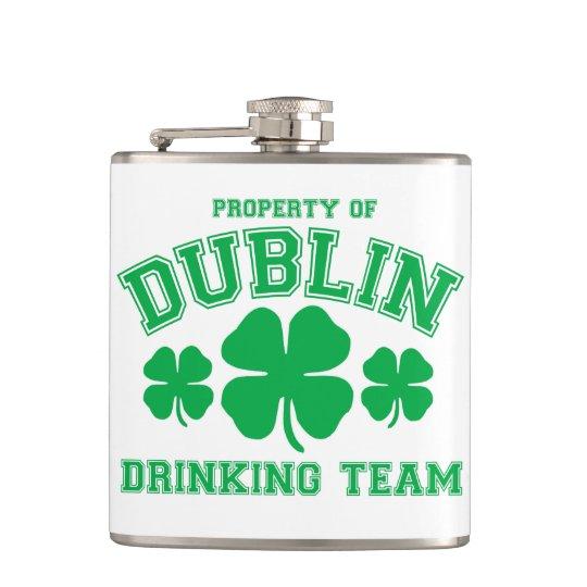 Dublin Drinking Team Hip Flask