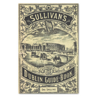 Dublin Guide Book Tissue Paper