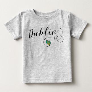 Dublin Heart T-Shirt, Ireland Baby T-Shirt