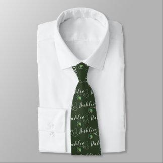 Dublin Heart Tie, Irish, Ireland Tie