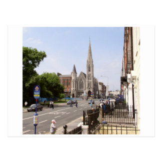 Dublin Ireland,  Abbey Church, Parnell Square Postcard
