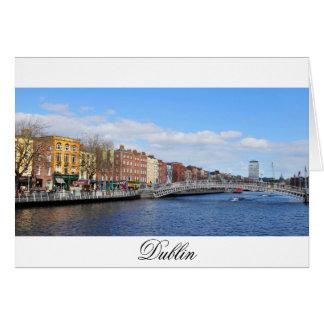 Dublin. Ireland Card