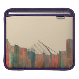Dublin  Ireland Skyline-Navaho iPad Sleeve