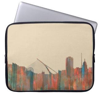 Dublin  Ireland Skyline-Navaho Laptop Sleeves