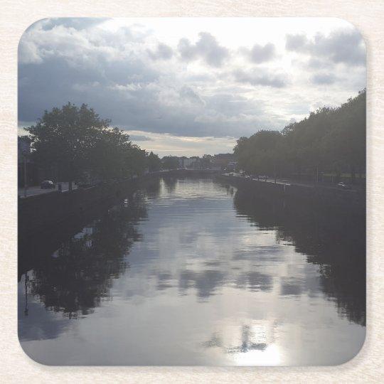 Dublin River Sunset Coaster