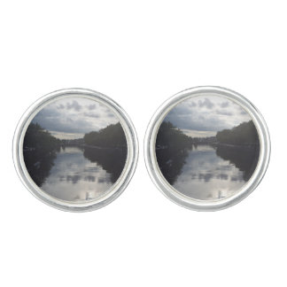 Dublin River Sunset Cufflinks