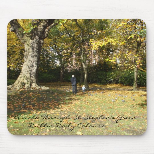 Dublin St Stephen's Green Mousepad