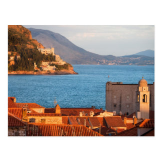 Dubrovnik at Sunset Postcard