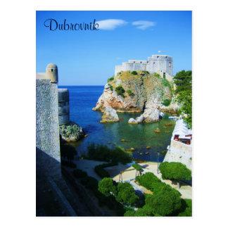 Dubrovnik Croatia Postcard