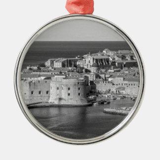 Dubrovnik Metal Ornament