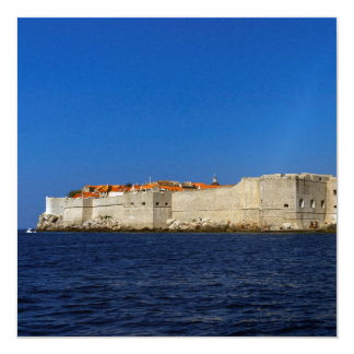 Dubrovnik old city, Croatia Card