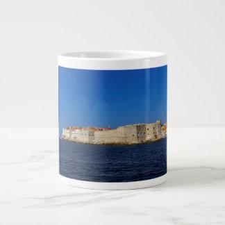 Dubrovnik old city, Croatia Large Coffee Mug