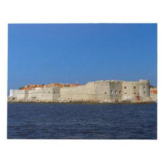 Dubrovnik old city, Croatia Notepads