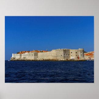 Dubrovnik old city, Croatia Poster