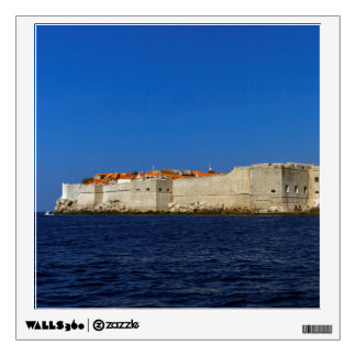 Dubrovnik old city, Croatia Wall Sticker