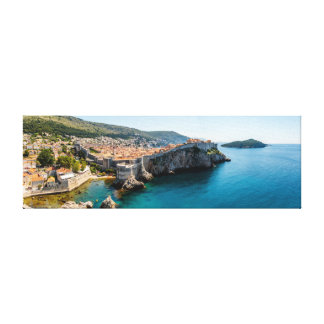 Dubrovnik Panorama Canvas Print