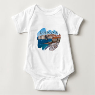 Dubrovnik with a View Baby Bodysuit