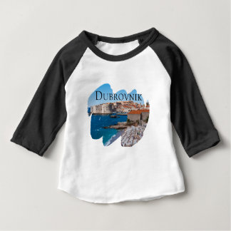 Dubrovnik with a View Baby T-Shirt