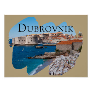 Dubrovnik with a View Poster