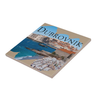 Dubrovnik with a View Tile