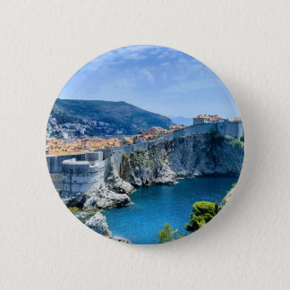Dubrovnik's Old City 2 Inch Round Button