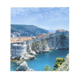 Dubrovnik's Old City Notepad