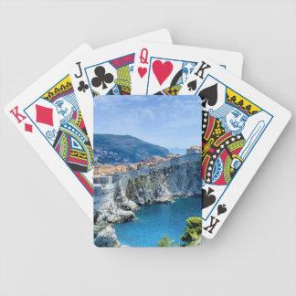 Dubrovnik's Old City Poker Deck