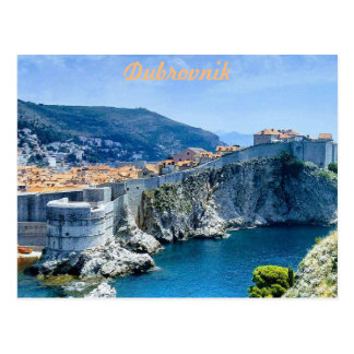 Dubrovnik's Old City Postcard